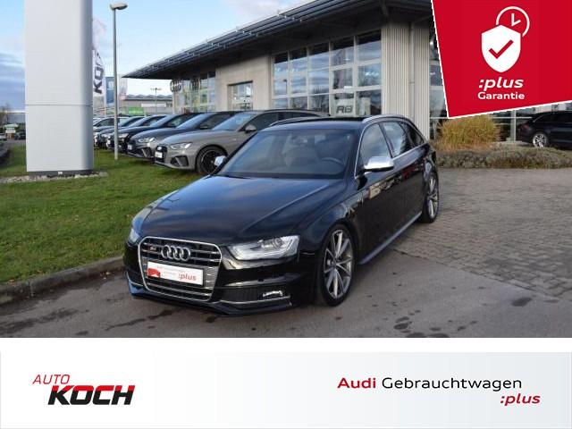 Audi S4 Avant 3.0 TFSI q. S-tronic, adapt. light, Navi Plus, AHK, KW Gewindefedern!, Jahr 2014, petrol