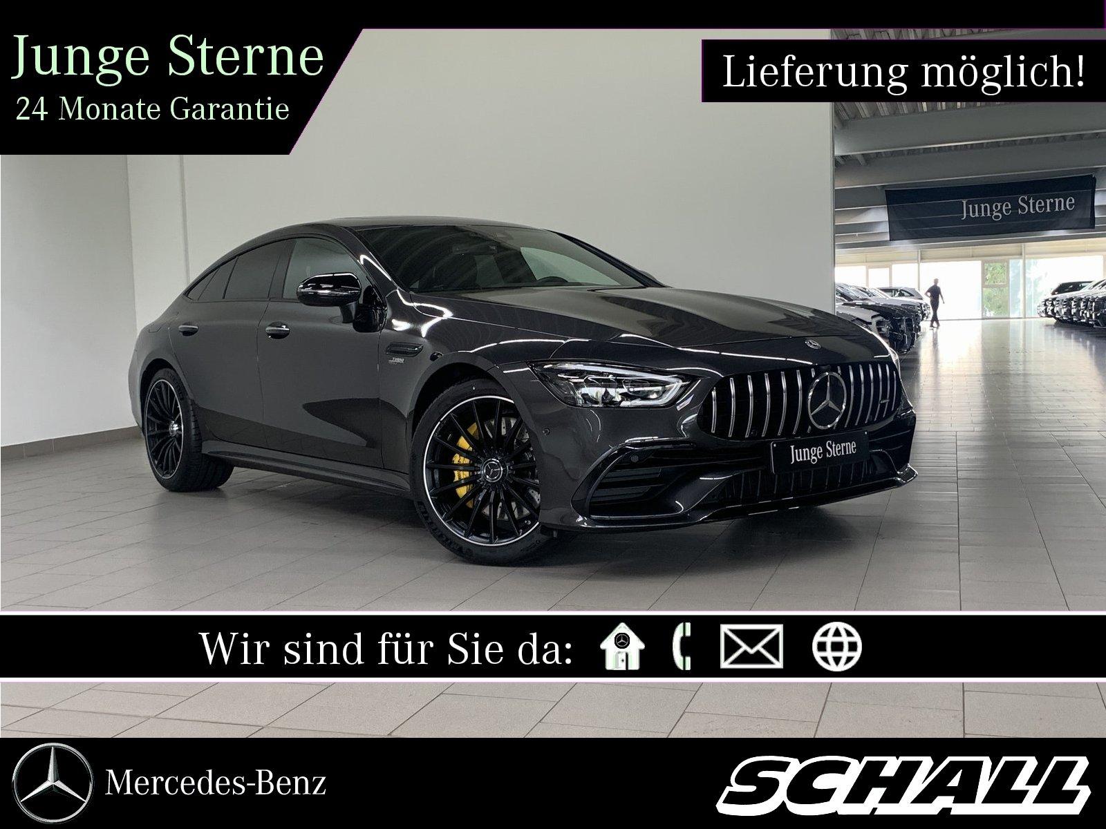 Mercedes-Benz AMG GT 43 4M+ PERF.AGA+DISTR+GSHD+KAMERA+20'AMG, Jahr 2019, Benzin