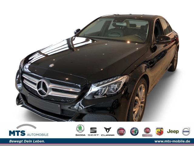 Mercedes-Benz C 200 -Klasse CGI Leder LED Navi Kurvenlicht e-Sitze Parklenkass. Fernlichtass., Jahr 2016, Benzin