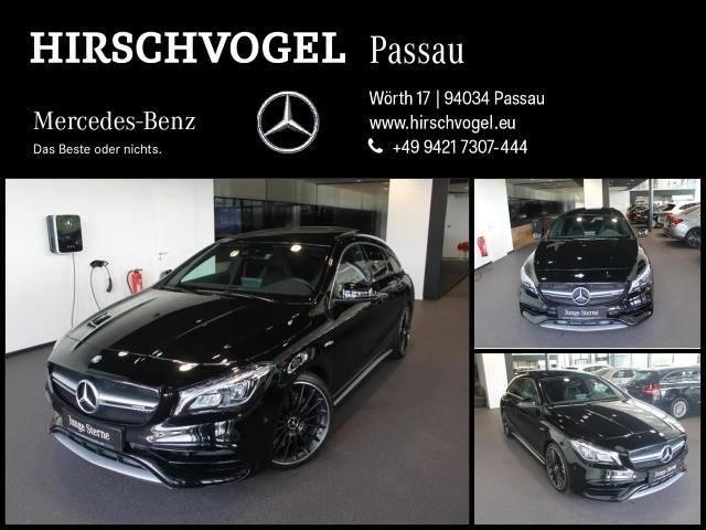 Mercedes-Benz CLA 45 AMG 4M SB Pano+Navi+LED+PDC+EASY-PACK+SHZ, Jahr 2016, Benzin