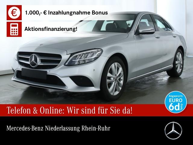 Mercedes-Benz C 180 Avantgarde LED AHK Kamera Spurhalt-Ass PTS, Jahr 2019, Benzin