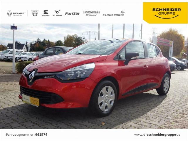 Renault Clio 1.2 16V 75 Life KLIMA TEMPO HSA RDKS R&GO, Jahr 2016, Benzin