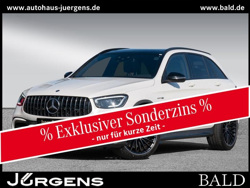 Mercedes-Benz GLC 63 AMG 4M+ Navi/Wide/ILS/Pano/AHK/Memo/360, Jahr 2020, Benzin