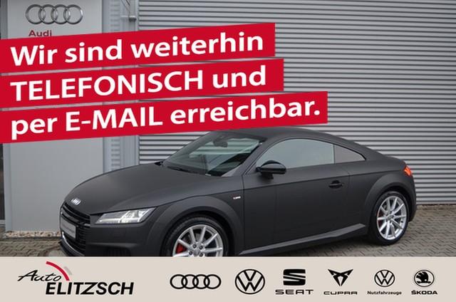 Audi TT Coupe 1.8 TFSI S tronic S line selection LED Leder matt foliert, Jahr 2016, Benzin