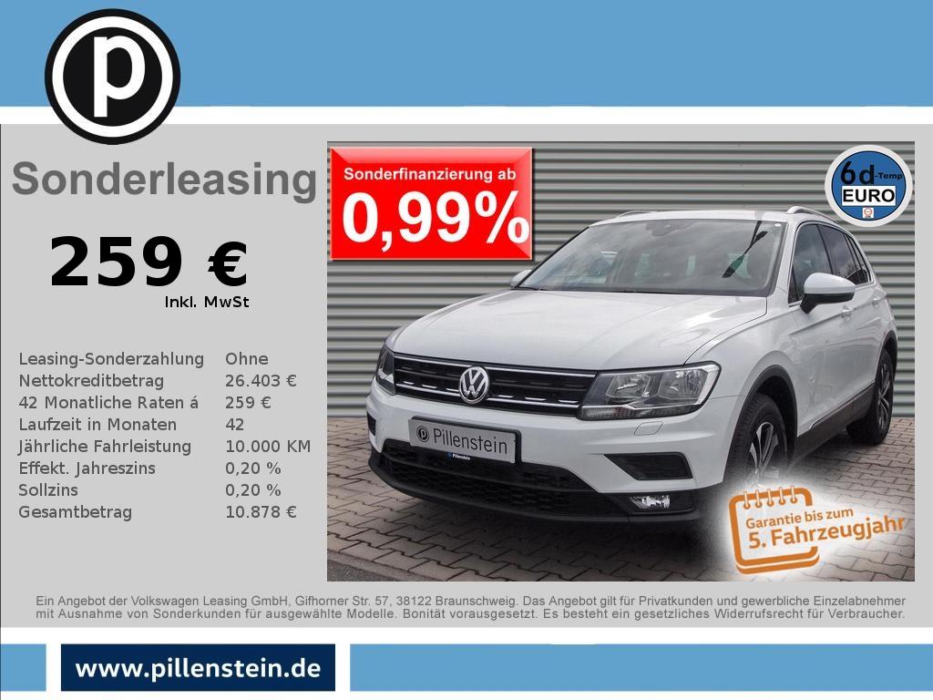Volkswagen Tiguan 1.5 TSI Comfortline AHK LIGHT-ASSIST NAVI, Jahr 2020, Benzin