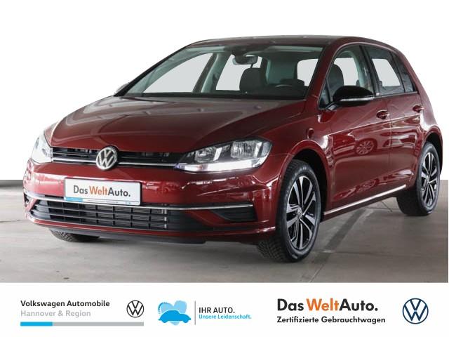 Volkswagen Golf VII 1.0 TSI IQ.DRIVE Navi AHK SHZ, Jahr 2019, Benzin