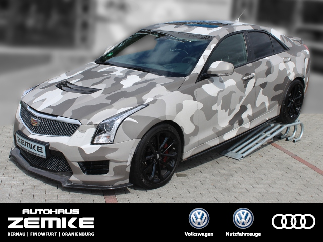 Cadillac ATS 3.6 Turbo V-Series Camouflage Folierung, Jahr 2015, Benzin