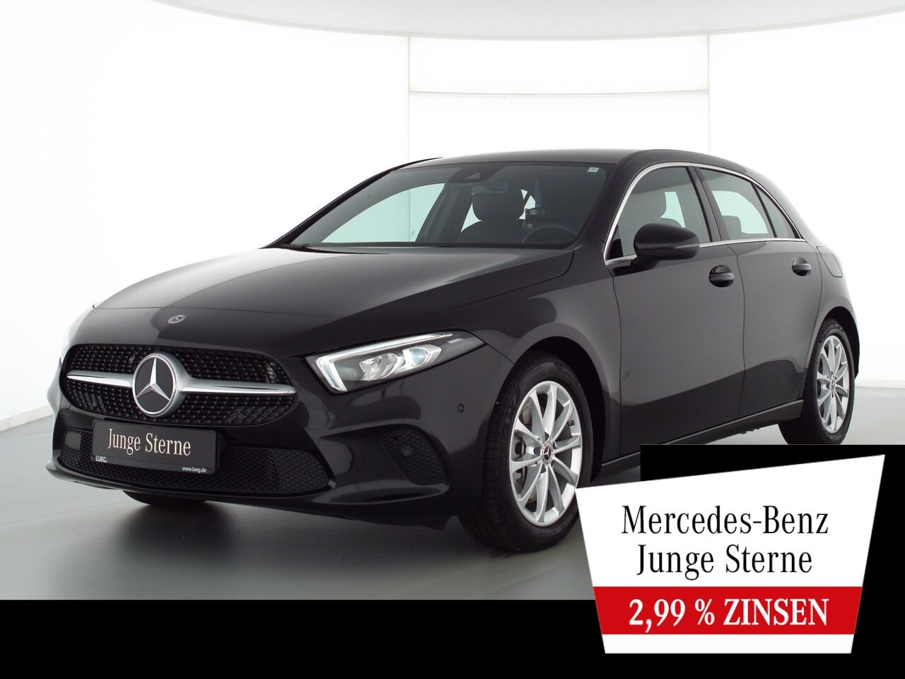 Mercedes-Benz A 250 4M Progressive+MBUX+NavPrm+LED-HP+Spur+RFK, Jahr 2020, Benzin