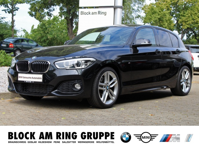 BMW 125i M-Sport 5-TÃrer LED HiFi Klima PDC AHK, Jahr 2016, petrol