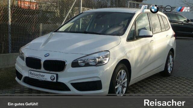 BMW 218d Gran Tourer Navigation,Sonnenschutzver. EU6, Jahr 2017, Diesel