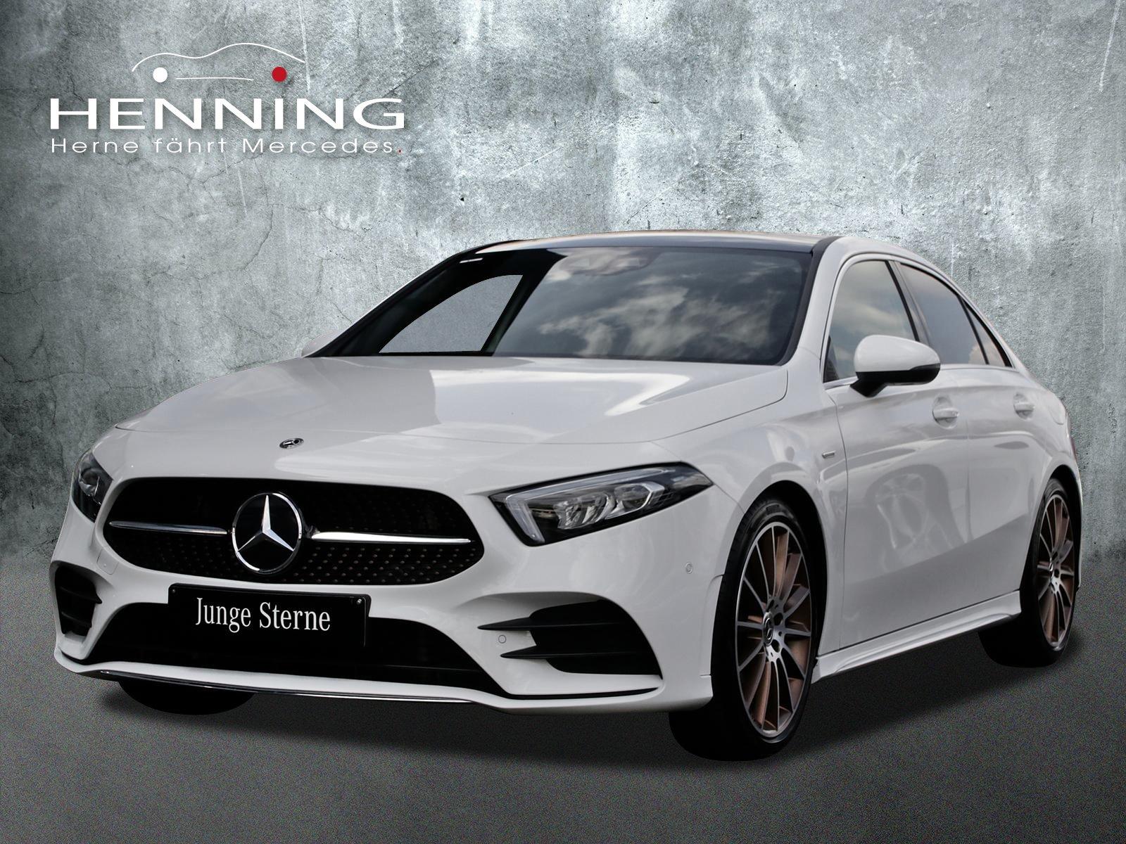Mercedes-Benz A 200 Edition 1 Pano Navi MBUX-AR Ambientebel., Jahr 2019, Benzin
