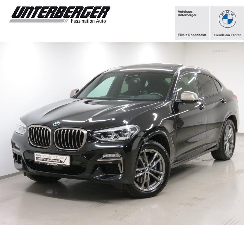 BMW X4 M40d M Sport HiFi LED WLAN Pano.Dach RFK, Jahr 2019, Diesel