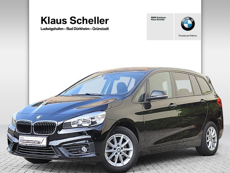 BMW 218 Gran Tourer d Advantage 3.Sitzreihe Navi AHK, Jahr 2017, Diesel