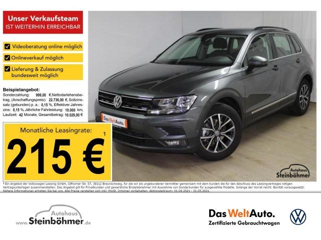 Volkswagen Tiguan Comfortline 1.5TSI AHK Kamera SHZ ParkAss, Jahr 2020, Benzin