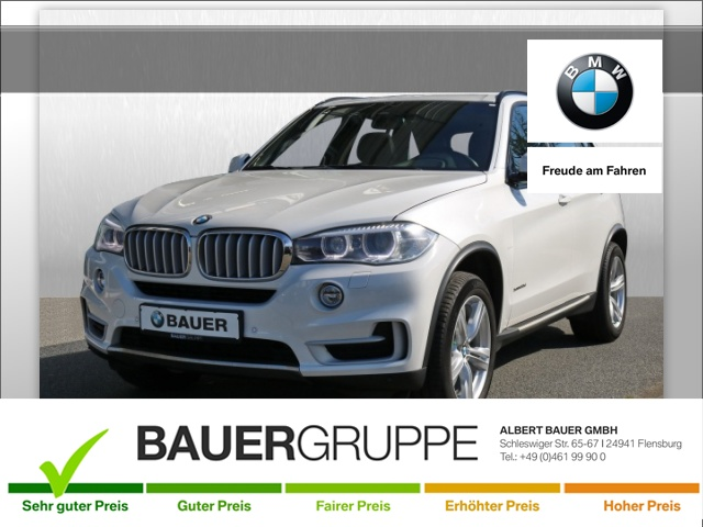 BMW X5 xDrive30d Bluetooth HUD Navi Xenon Vollleder, Jahr 2013, Diesel