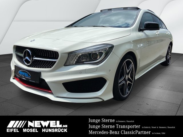 Mercedes-Benz CLA 220 CDI SB *AMG*COMAND*NIGHT*PANO*XENON*AHK*, Jahr 2015, Diesel