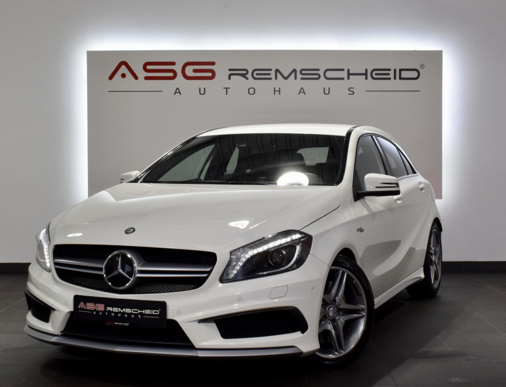 Mercedes-Benz A 45 AMG 4M 7G-Tr. *Historie *Comand *18Zoll*, Jahr 2014, Benzin