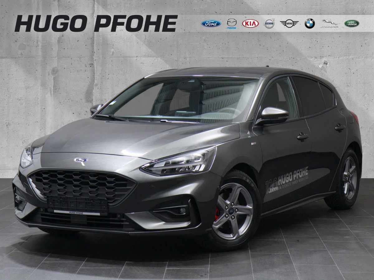 ford focus st-line 5-türig, jahr 2018, benzin