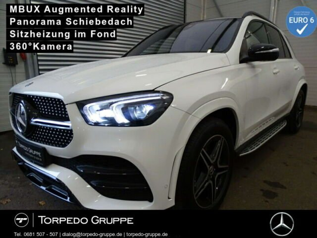 Mercedes-Benz GLE 300 d 4M AMG LED+NIGHT+PANO+MBUX+AR+PTS+SHZ+, Jahr 2020, Diesel