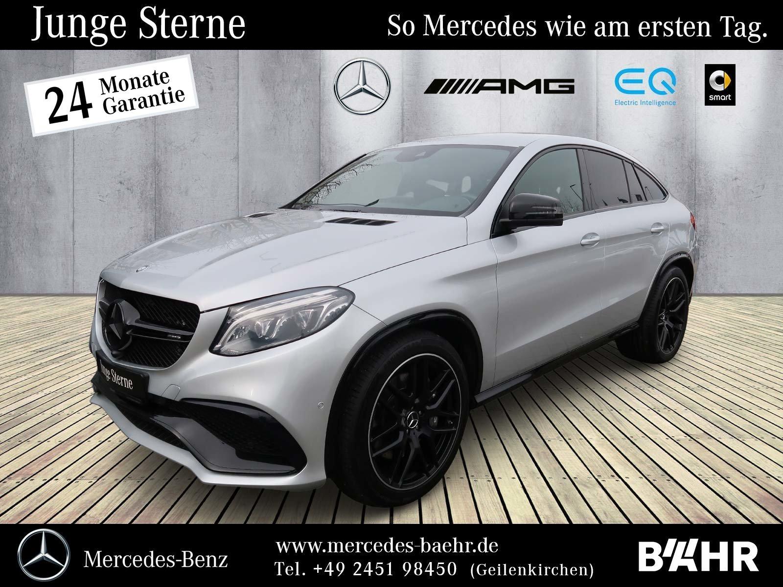 Mercedes-Benz GLE 63 4M Coupé Night/Comand/ILS/Airmatic/LMR-22, Jahr 2016, Benzin