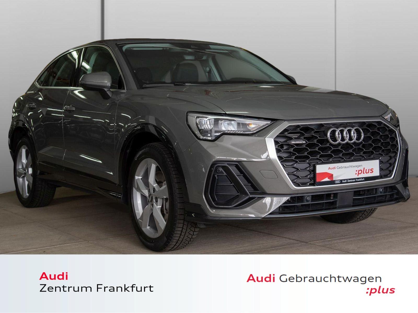 Audi Q3 Sportback 45 TFSI quattro S tronic AHK DAB VC PDC Sitzheizung, Jahr 2020, Benzin