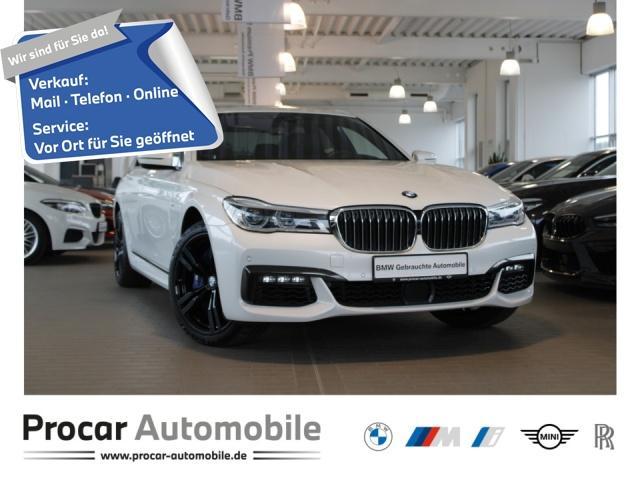 BMW 750d xDrive M-Sport DA+ H/K AHK HuD StandHz GSD, Jahr 2018, Diesel
