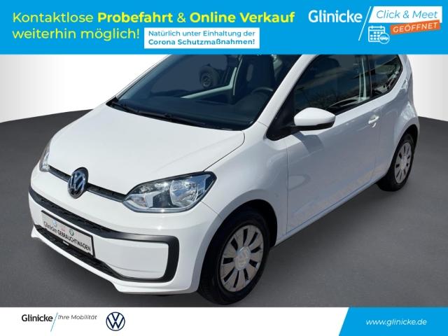 Volkswagen up! 1.0 move LED-Tagfahrlicht RDC Klima AUX USB Kom-paket ESP Seitenairb., Jahr 2016, Benzin