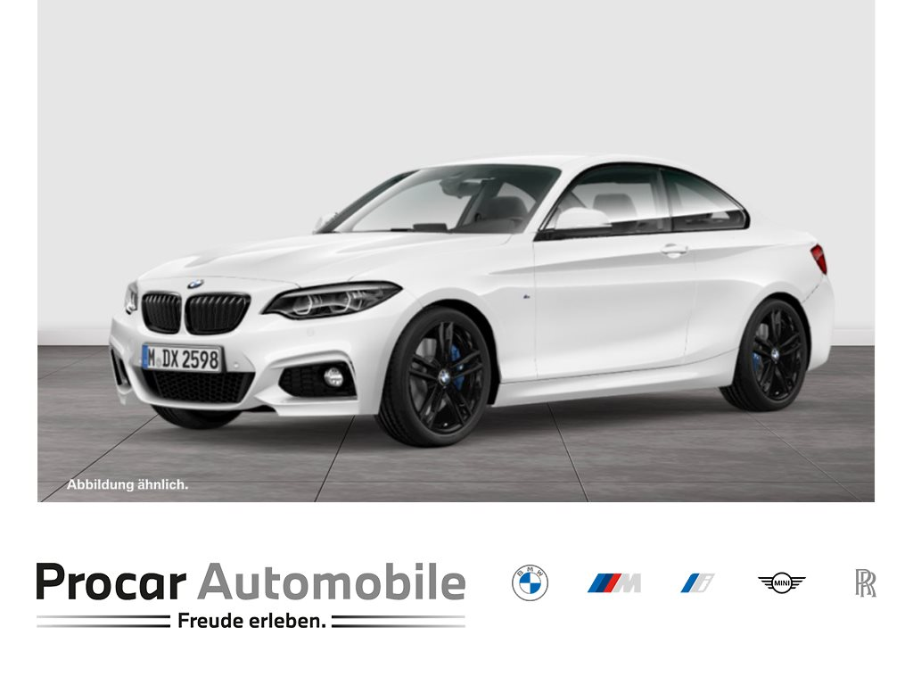 BMW 220i Coupe M Sport Adapt. LED H/K WLAN DAB 18, Jahr 2020, Benzin