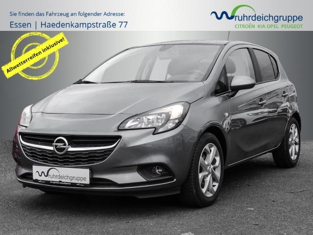 Opel Corsa E 120 Jahre 1.4+Klima+Allwetter+PDC+DAB, Jahr 2019, Benzin
