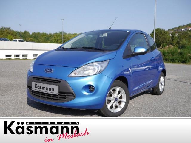 Ford Ka 1.2 Cool & Sound Klima*Radio/ CD*Sitzhz.*ZV, Jahr 2014, Benzin
