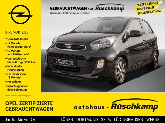 Kia Picanto Attract 1.0 RDC Navi, BC Scheckheft TRC ASR Airb ABS Servo Beif.- Airb., Jahr 2017, Benzin