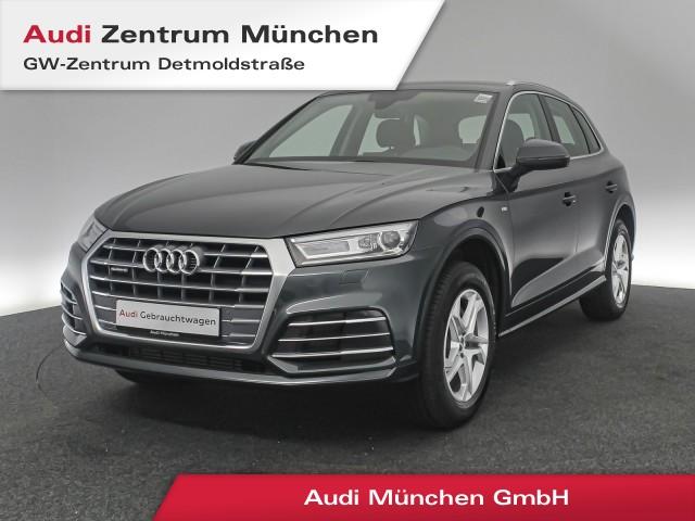Audi Q5 2.0 TFSI qu. Design S line Navi Xenon SideAssist el.Heckklappe R-Kamera S tronic, Jahr 2018, Benzin