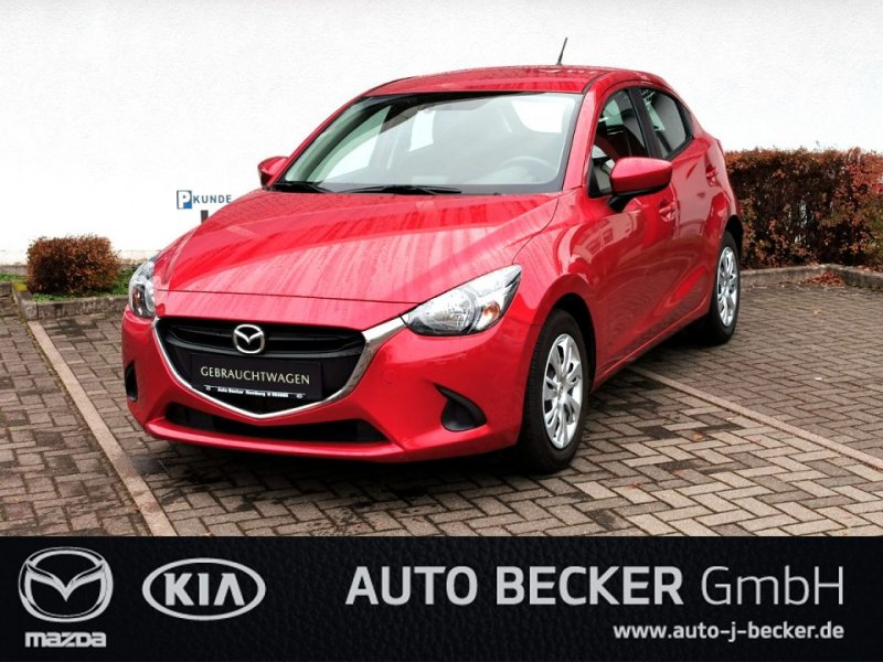 Mazda 2 SKYACTIV-G CENTER-LINE + SITZHEIZUNG + PDC, Jahr 2015, Benzin