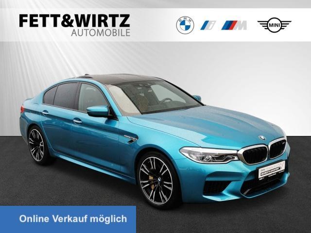 BMW M5 xDrive Keramik NightVis. TV Sitzbel. B&W AHK, Jahr 2018, Benzin