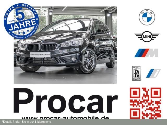 BMW 220 Gran Tourer Sport Line Aut. Panorama 17''LM, Jahr 2017, Diesel