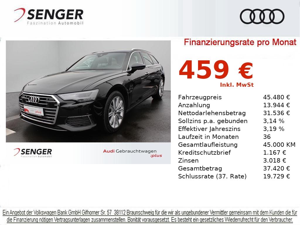 Audi A6 Avant Design 45 TDI VC LEDER LED DAB KAMERA, Jahr 2020, Diesel