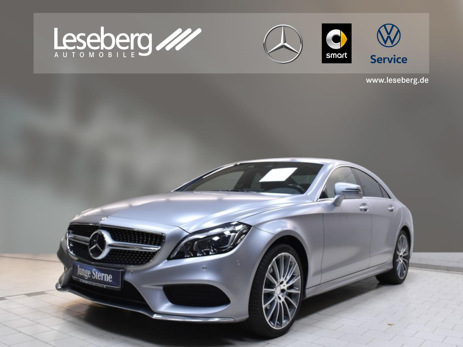 Mercedes-Benz CLS 350 BT Coupé AMG Line/9G/SHD/Distr/360°/LED, Jahr 2014, Diesel