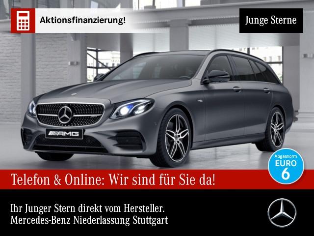 Mercedes-Benz E 53 AMG T 4M+ Fahrass.Wide.Pano.AHK.360°.Sitzkl, Jahr 2018, Benzin