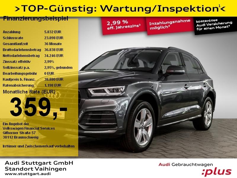 Audi Q5 sport 2.0 TDI quattro S-Line LED Navi Kamera, Jahr 2018, Diesel
