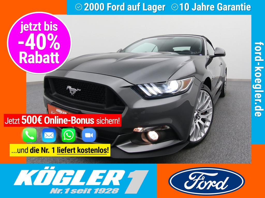 Ford Mustang Cabrio V8 GT 5.0 Aut./Premium-P., Jahr 2017, Benzin