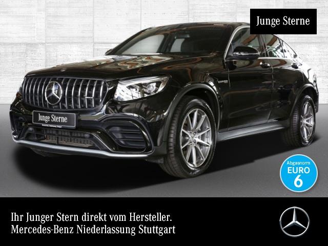 Mercedes-Benz GLC 63 AMG Cp. LED SHD 360° Burmester Distronic, Jahr 2019, petrol