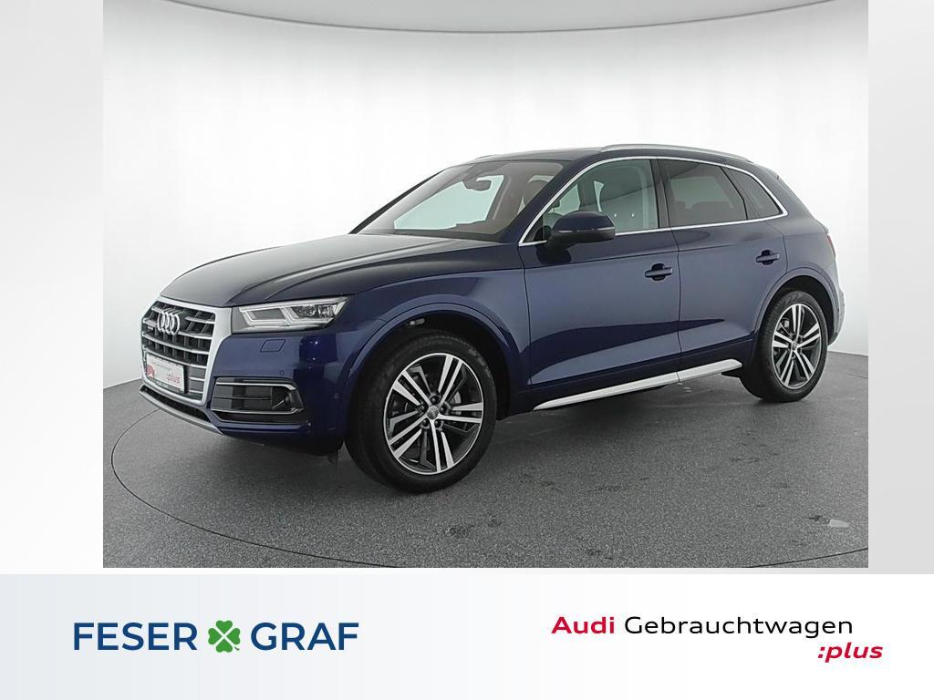 Audi Q5 Sport 20TFSI q. HuD/Pano/ACC/Leder/B&O/20 Zol, Jahr 2016, Benzin