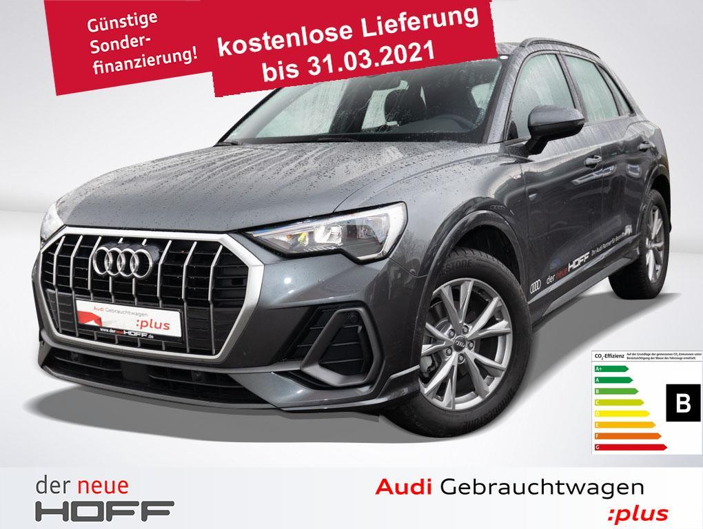 Audi Q3 35 TFSI S-Line Navi Vorb APS Plus Sportsitze, Jahr 2020, Benzin