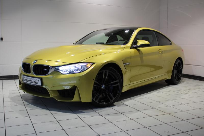 BMW M4 Coupe M DKG Navi Prof. Klimaaut. Head-Up PDC, Jahr 2014, petrol