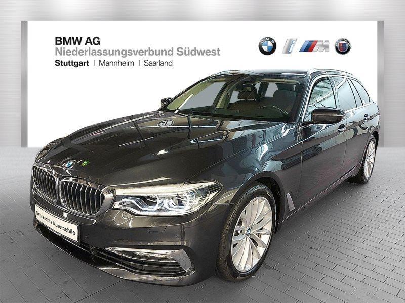 BMW 530d Touring Luxury Line Head-Up HiFi LED RFK, Jahr 2017, Diesel
