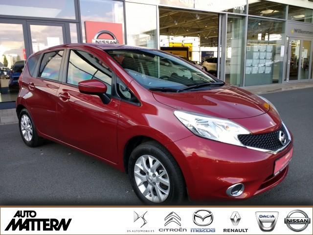 Nissan Note 1.2 Acenta PLUS Klima Sitzh. Navi Bluetooth, Jahr 2016, Benzin