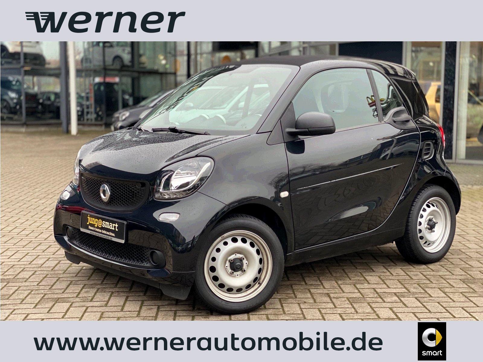 smart fortwo coupé 45 kW ~KLIMA~SERVO~JUNG@SMART~, Jahr 2017, Benzin