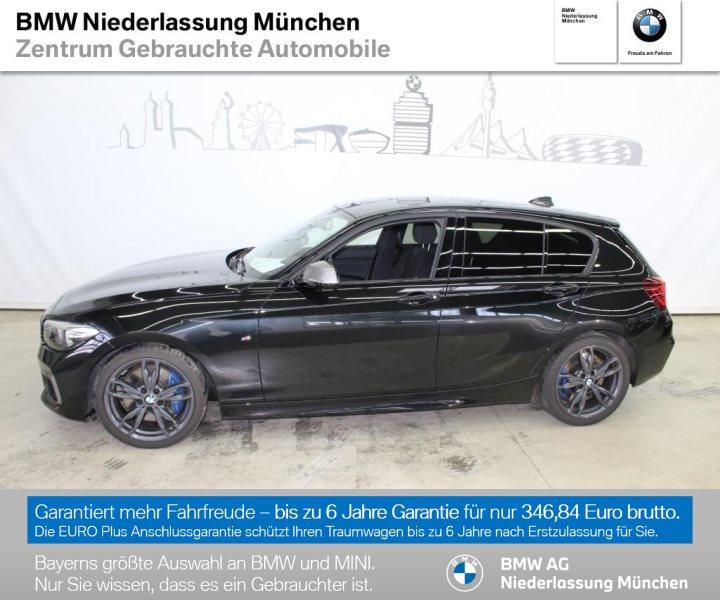 BMW M140i xDrive 5-Türer M Sportbr. HiFi LED USB, Jahr 2018, Benzin