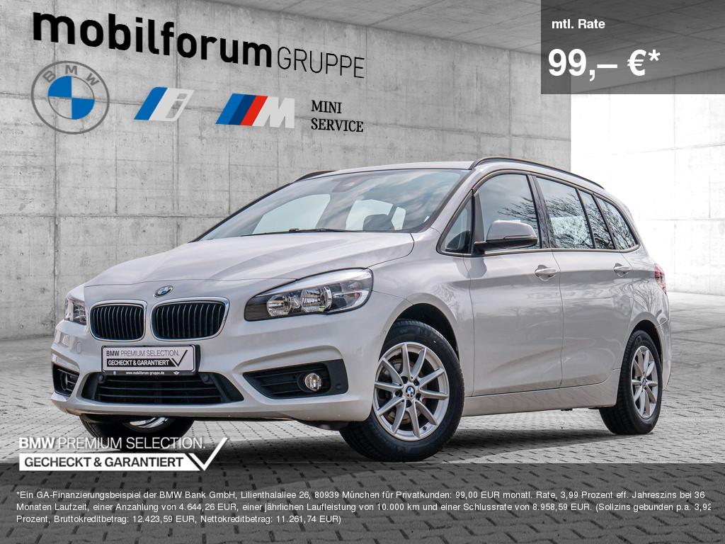 BMW 216d Gran Tourer, Jahr 2018, Diesel