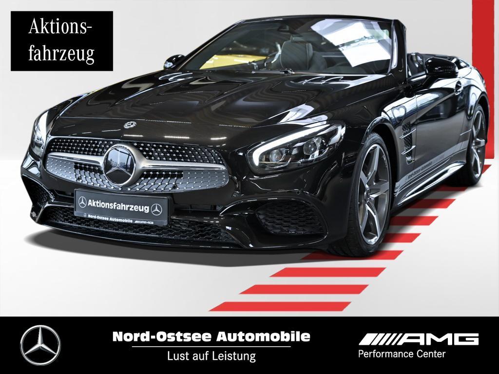 Mercedes-Benz SL 500 AMG*DISTRONIC*MULTIKONTUR*LED*COMAND*H&K, Jahr 2019, Benzin